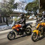 Honda CB 500X e CB 500F 2019.