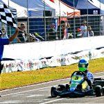 Cadu Bonini é o campeão da categoria Júnior Menor.