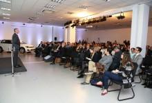 Presidente e CEO da Volkswagen do Brasil, David Powels faz a abertura do workshop inédito de Comunicação Digital promovido pela empresa.