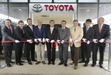 25 mar 15 - Toyota realiza cerimônia comemorativa da revitalização da fábrica SBC