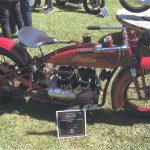 Motocicleta americana da marca Indian, de 1928.