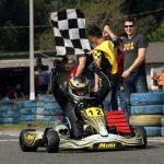 Iuri Ziemer manteve a liderança da categoria Sênior coma vitória no último sábado.