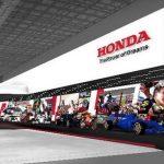 Palco Principal Comemoração dos 60 anos de participação da Honda no WGP.