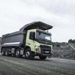 Novo Volvo FMX Europa.