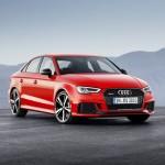 Novo Audi RS3 Sedan.