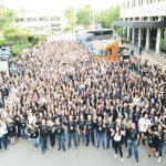 Mais de 10 mil colaboradores no Dia D.