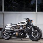 A completamente nova motocicleta Custom de 1.250cc da Harley-Davidson.