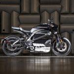 A motocicleta elétrica da Harley-Davidson, LiveWireT.