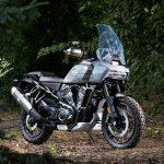 Primeira motocicleta Adventure Touring da Harley-Davidson.