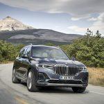 Novo BMW X7.