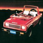 A 2ª geração do Jimny Série SJ foi lançada em 1981.