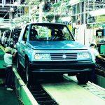 Em 1988 a Suzuki lançava no Japão o tradicional Vitara.