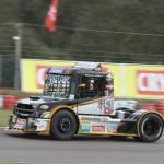 Primeiro vencedor da Truck em Santa Cruz do Sul, Roberval Andrade posicionou o Scania em terceiro lugar.
