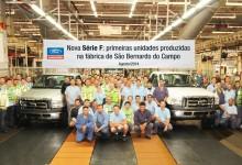 Ford inicia produção do F-4000