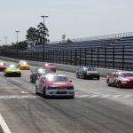 Largada da segunda corrida da Turismo 5000.