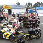 Equipe Tom Racing comemora mais um título.