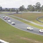 Prova categoria Turismo 1600 com Beto Baú à frente.