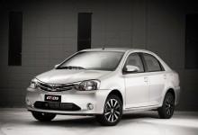 Etios Platinum Sedan 2015.