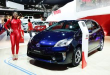 Toyota Prius no Salão - 1