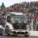 Geraldo Piquet terminou a corrida em terceiro lugar e garantiu o terceiro lugar final no Sul-Americano.