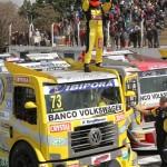 A 16ª vitória de Leandro Totti na Fórmula Truck foi a primeira fora do Brasil.