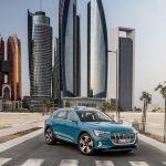 Audi e-tron em Abu Dhabi.