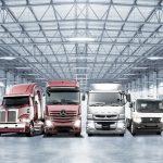 Daimler Trucks Family Shot 2018   Daimler Trucks Family Shot 2018