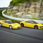R-L2002 NSX Spa Yellow Pearl e 2020 NSX Indy Yellow Pearl.