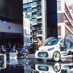 Showcar smart vision EQ fortwo.