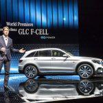 Ola Källenius, Daimler AG, apresentou o Mercedes-Benz GLC F-CELL.