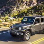 Novo Jeep Wrangler Sahara.