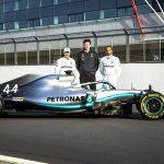 Mercedes-AMG Petronas Motorsport, F1, Silverstone, Lewis Hamilton, Valtteri Bottas e Toto Wolff.