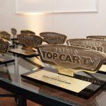 Troféus do Top Car TV.