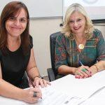 Raquel Laranjeira e Laura Laganá oficializam a parceria.