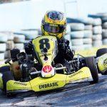 Alfredo Ibiapina, da categoria Cadete, é um dos destaques da nova geração de pilotos de Curitiba.